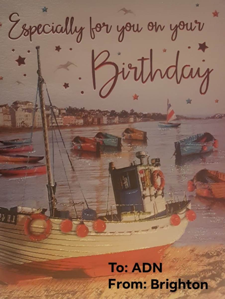 Birthday Wishes from Brighton, UK