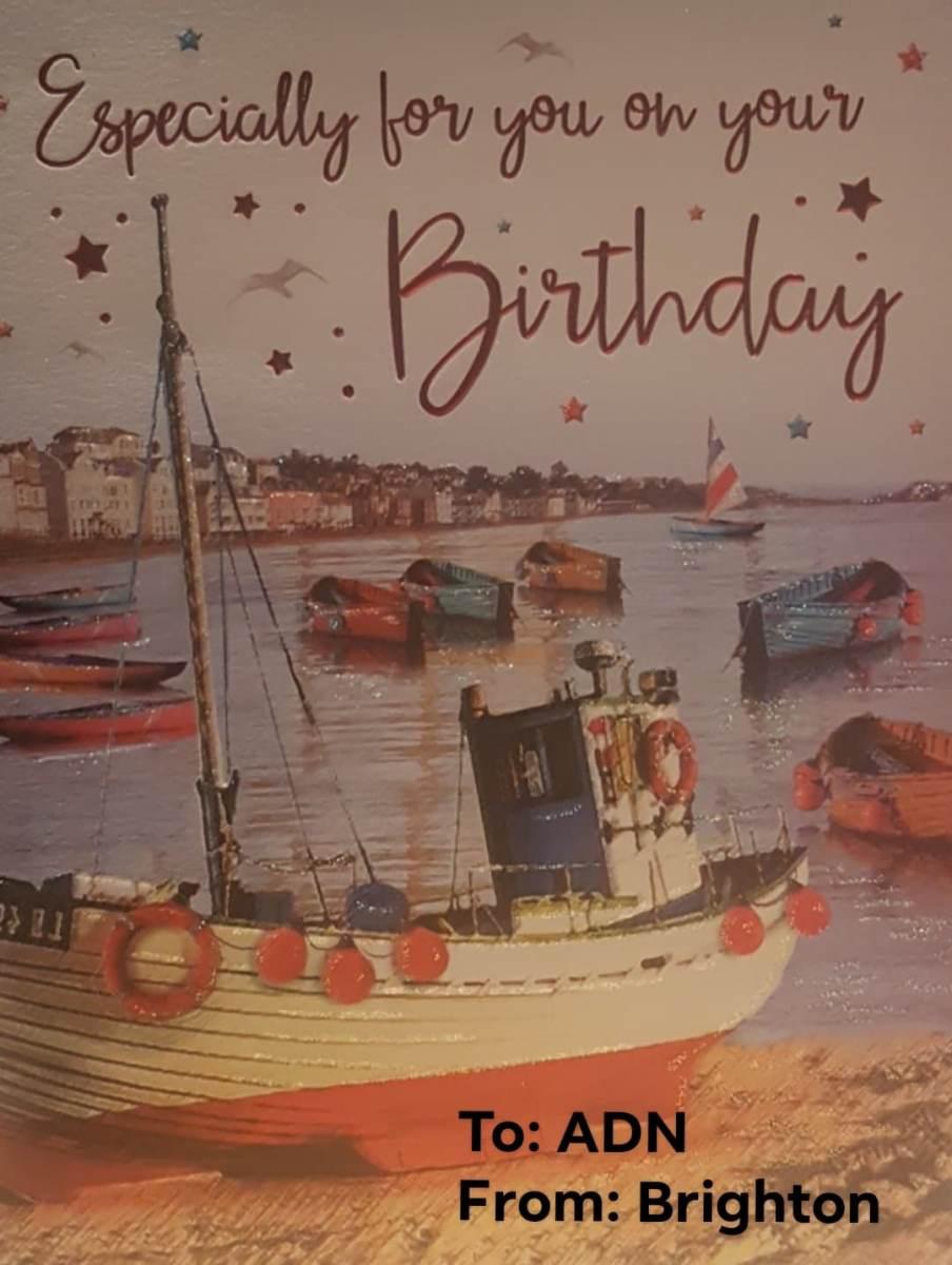 Birthday Wishes from Brighton, UK