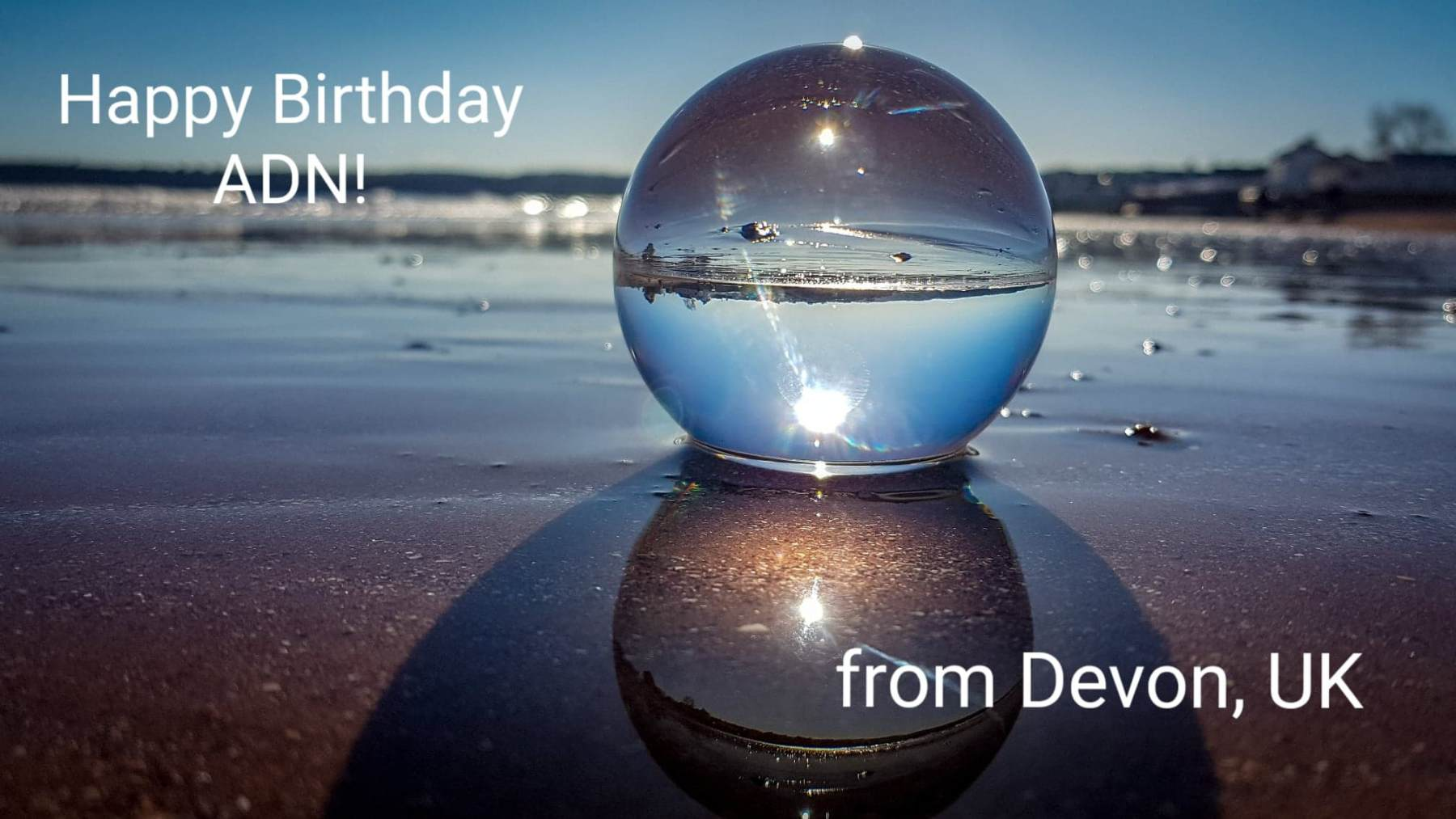 Birthday Wishes from Devon, UK