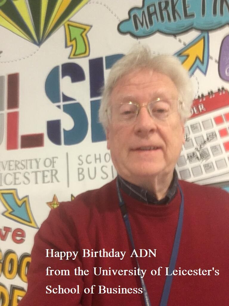 Birthday Wishes from Leicester, UK
