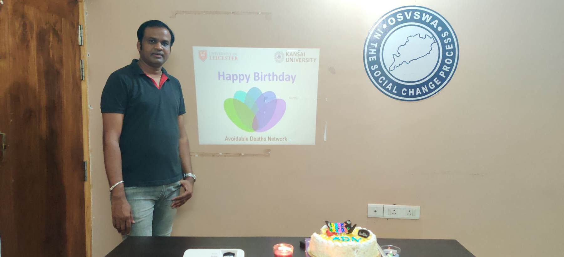 Birthday Wishes from  India