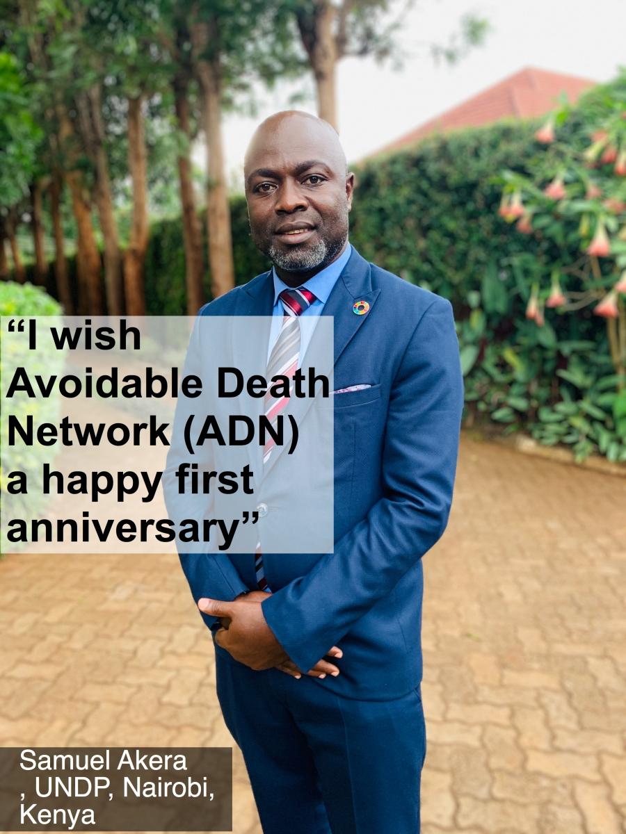 Birthday Wishes from Nairobi, Kenya