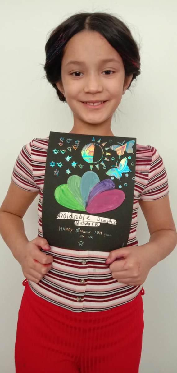 Birthday Wishes from ADN's Junior Champion, Asha
