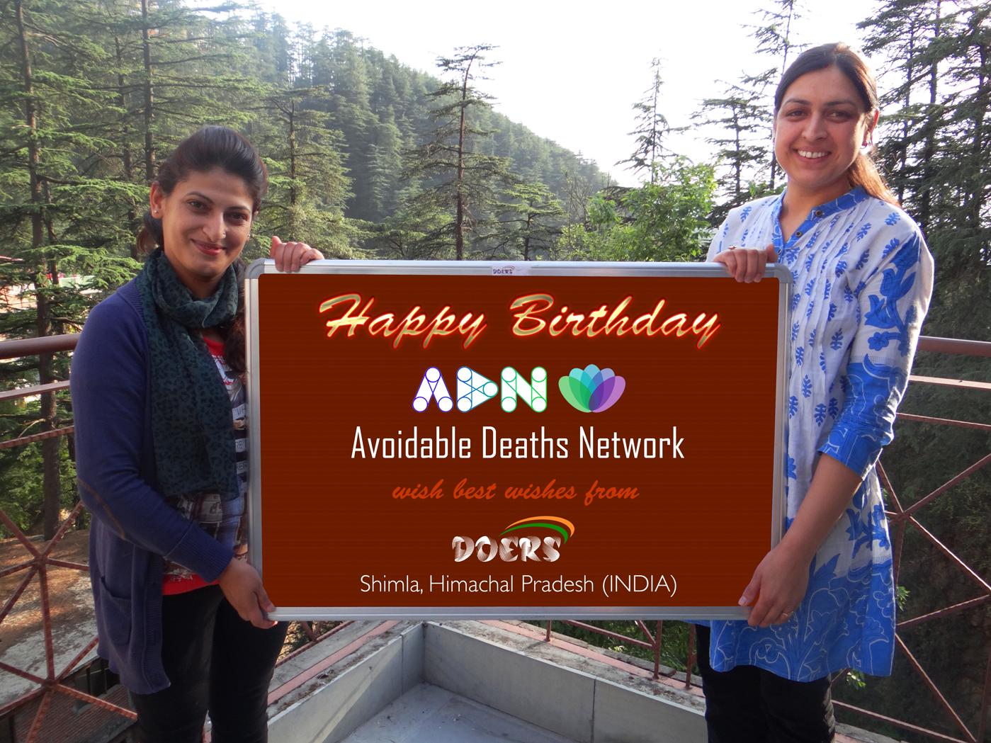Birthday Wishes from Himachal Pradesh, India