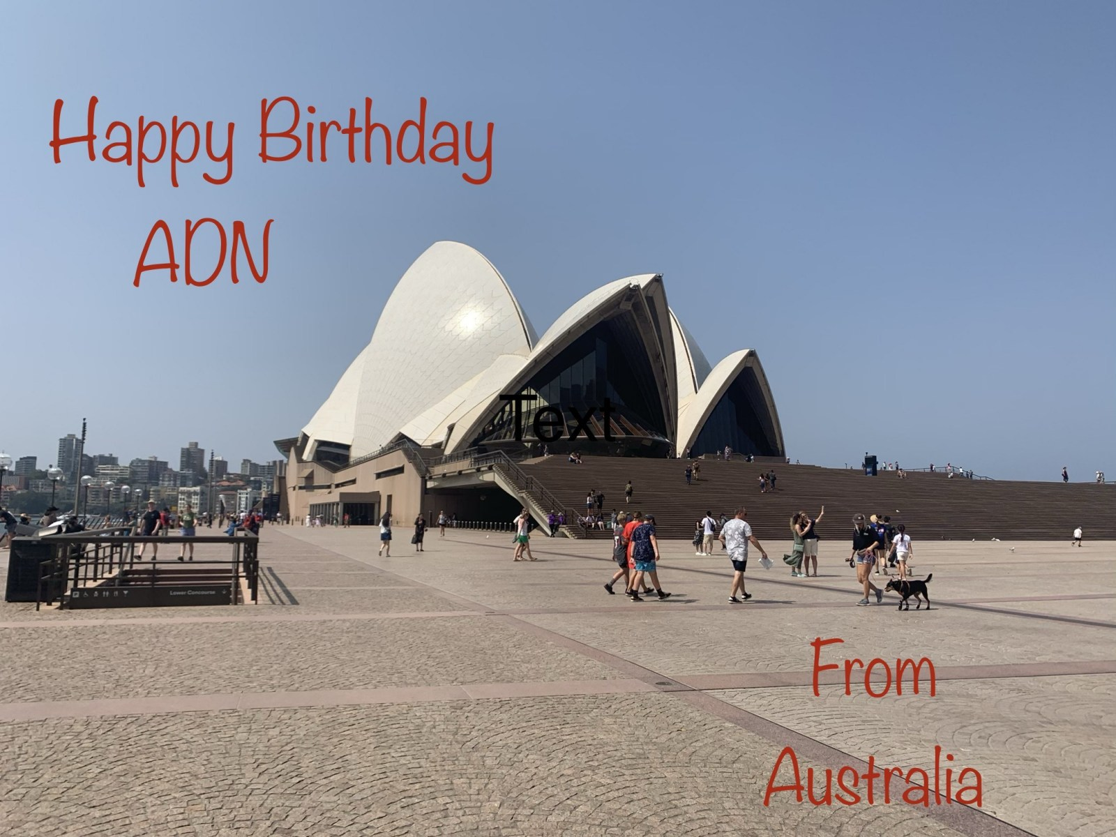 Birthday Wishes from Australia