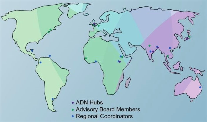 ADN's Members from Around the World